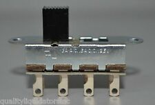 CW Industries DP3T Slide Switch 3A AC .5A DC 125V G328-0040 ++ Lot of 400 NEW ++
