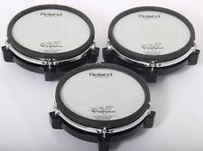 3x Roland PD-85 Netz elektronisch schnarrtrommel / Tom Schlagzeug Trigger Beläge