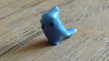 Vintage Hagen Renaker bluebird bluejay bird ceramic miniature animal figurine