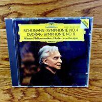 Schumann Symphonie No 4 Dvorak Symphony No 8 Classical Music Cd Mint Disc RARE