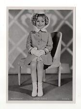 Shirley Temple 1937 Union Dresden Film Star Series 15 5 X 7 Cigarette Photo Card
