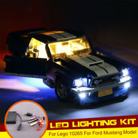 LED Light Lighting Kit Set ONLY For Lego 10265 For Ford Mustang With