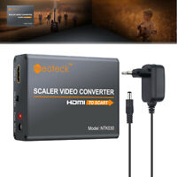 1080P Scart To HDMI MHL Converter Audio Video Adapter & USB Cable For TV DVD SKY