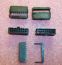 QTY (20) 499997-3 AMP 16 POSITION (8x2) IDC NOVO RIBBON CABLE RECEPTACLE 2.54mm