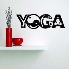 Yoga Wandtattoo Wallpaper Wand Schmuck 55 x 17 cm