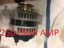 HIGH OUTPUT ALTERNATOR FIT CHEVY Blazer GM 250 AMP 1-WIRE 1965-1985 Camaro DENSO