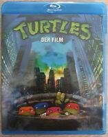Turtles Der Film Bluray Neuwertig Like New Blu-ray Uncut Kult 90er