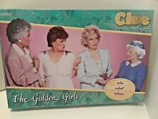 Brand New Sealed USAopoly Clue The Golden Girls Board Game