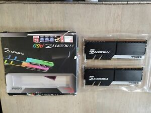 New G. SKILL TridentZ RGB 32GB (2 x 16GB) PC4-25600 (DDR4-3200) Memory