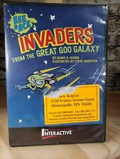 Eek & Ack: Invaders From The Great Goo Galaxy Pc Mac Cd Interactive Storybook