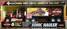 "NOS Vintage Harley Davidson Kenworth Steel Electronic Sonic Hauler 21"" long NEW"