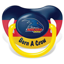 Adelaide Crows AFL Infant Baby Dummy Pacifier New Born Baby Loosing Team Gift