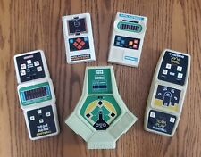 Coleco And Mattel Handheld Video Tabletop Games