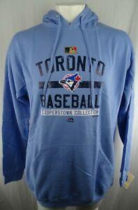 Toronto Blue Jays MLB Majestic Men's Big and Tall Graphic Hoodie