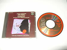 artur rubinstein/reiner rachmaninoff rhapsody on theme of paganini japan cd 1984
