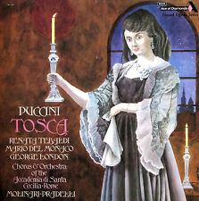 GOS 612-3 Puccini Tosca Tebaldi Del Monaco London DECCA 2xLP Box NM/EX + booklet