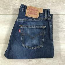 "Womens Blue LEVIS 501 28""W 34""L Vintage Mom Mum Boyfriend Fit Jeans 501s #B3525"