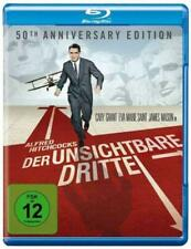 DER UNSICHTBARE DRITTE Alfred Hitchcock  North By Northwest BLU RAY NEW