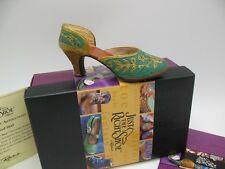 Just The Right Shoe Raine Willittis Designs Carved Heel Shoe Minitaure 25096