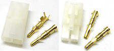RC R/C 7.2v Compatible Tamiya Battery Large Male Female Plug Set Gold Pins X 1