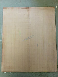 Western red cedar steel string / jumbo guitar bookmatched tops / sound boards