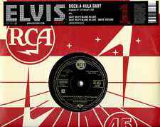 "Elvis Presley UK 10"" 10/18 Rock-A-Hula Baby 3 Tracks 06479 UNPLAYED EX/EX"