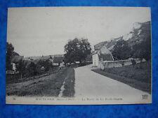 HAUTE-ISLE  :  La Route de la Roche-Guyon.