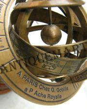 Nautical Brass Sphere Armillary Collectible Nautical Decor 6''
