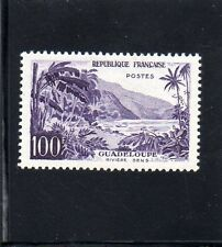 No 1194 x...100f VIOLET GUADELOUPE.1959.COTE 21 €. PRIX: 3,95 €