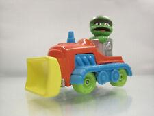 Sesame Street Henson Kid Dimension Town Dump Toy Bulldozer Diecast Car 1982