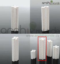 1 x Modell Hochhaus Gebäude 1:1000 Typ D