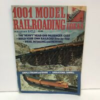 1001 Model Railroading Ideas Magazine Back Issue Summer 1972 Diesel Detailing