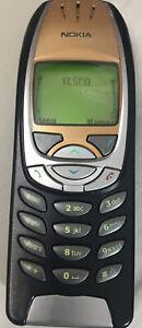 NOKIA 6310 -  GOLD - MOBILE PHONE – HANDSET 3 MONTH GUARANTEE - REFURBISHED