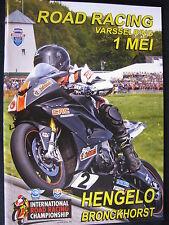 Programmaboekje Road Racing Varsselring 1 Mei 2016 Hengelo / Bronkhorst