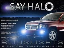 05 06 07 08 2009 2010 2011 Dodge Dakota Halo Fog Lamp Angel Eye Driving Lights