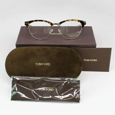 Tom Ford Women Eyeglasses Havana Frame W/Demo Lens