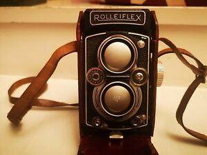 Vintage RolleiflexDBP DBGM F3.5 Twin lens camera
