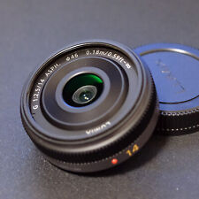 Used Panasonic Lumix G 14mm ASPH f/2.5 lens M4/3 Excellent FREE SHIPPING