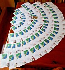 1988 Brisbane EXPO FDC Set of Envelopes Different Cancellations 66 envelopes(11)