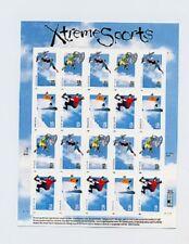 3321-3324 Extreme Sports 33c Full Sheet