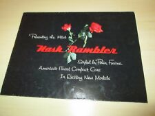 1954 Nash Rambler  Car Sales Brochure
