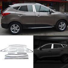 Full Window Pillars Window Sill Molding Trim Exactly Fitted For Hyundai IX35