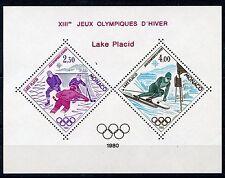MONACO 1980 LAKE PLACID OLYMPIC  SOUVENIR SHEET YVERT#12 MINT NH