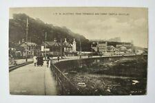 More details for postcard isle of man tram terminus & derby castle douglas 1930s lilywhite ltd