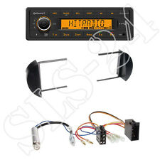 Continental TR7412UB-OR + VW New Beetle 1-DIN Radioblende black + ISO-Adapter