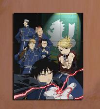 Fullmetal Alchemist Roy Mustang Riza Hawkeye Japanese Anime  mini poster
