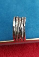 James Avery sterling silver 925 multi wire ring size 8
