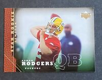 2005 Upper Deck #202 AARON RODGERS RC ROOKIE Packers Football Card