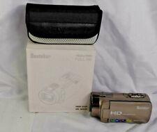 Besteker HD 1080P 24MP 16X Digital Zoom Video Camcorder Camera Gun Metal