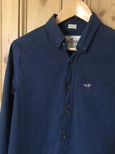 Blue Hollister Stretch shirt Men's Small